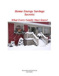 Home Energy Savings Secrets PDF