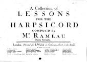 A collection of lessons for the harpsicord, opera seconda