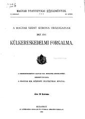 Magyar statisztikai közlemények: Új sorozat ..., Volume25