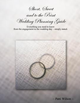 Short  Sweet and to the Point Wedding Planning Guide PDF