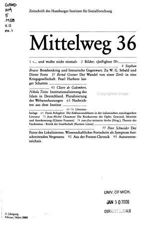 Mittelweg 36 PDF