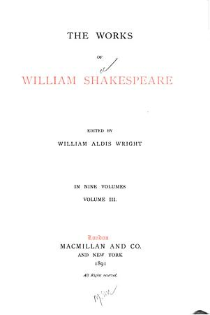 The Works of William Shakespeare  The taming of the shrew  All s well that ends well  Twelfth night  or  What you will  The winter s tale PDF