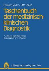 Taschenbuch der medizinisch-klinischen Diagnostik: Ausgabe 71