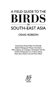 A Field Guide to the Birds of South East Asia PDF