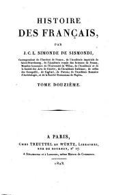 Histoire des Français: Volume12