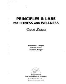 Principles   Labs For Fitness And Wellness