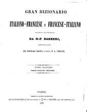 *Grande dizionario italiano-francese e francese-italiano: 1: Partie française-italienne