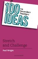 100 Ideas for Secondary Teachers  Stretch and Challenge PDF