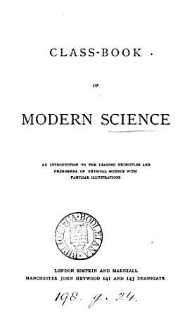 Class book of modern science PDF