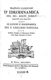 Trattato elementare d'idrodinamica: Volume 1