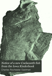 Notice of a new Coelacanth fish from the Iowa Kinderhook