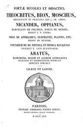 Poetæ bucolici et didactici: Volume 1