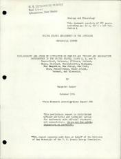 Bibliography and Index of Literature on Uranium and Thorium and Radioactive Occurrences in the United States PDF