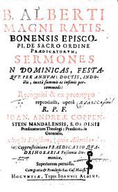 Sermones in dominicas, festaque per annum