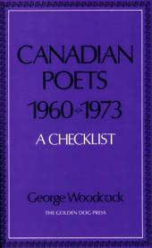 Canadian Poets, 1960-1973: A List