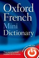 Oxford French Mini Dictionary PDF