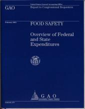 Food Safety: Overview of Federal and State Expenditures