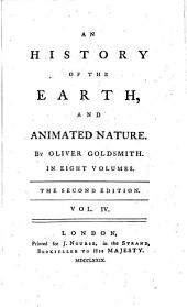 An History of the Earth, and Animated Nature: Volume 4