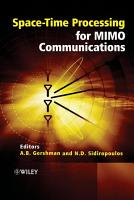Space Time Processing for MIMO Communications PDF