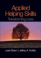 Applied Helping Skills PDF