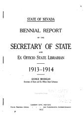 Biennial Report ...