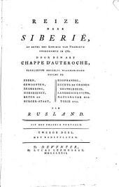 Reize naar Siberië, op bevel des konings van Vrankryk ondernomen in 1761: Volume 2