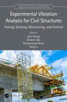 Experimental Vibration Analysis for Civil Structures PDF