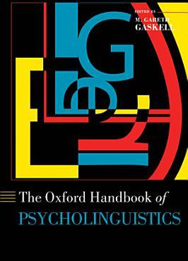 The Oxford Handbook of Psycholinguistics PDF