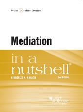 Mediation in a Nutshell: Edition 3