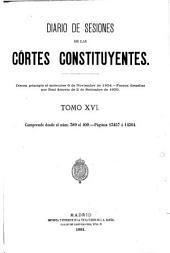 Diario de las sesiones ... 1838 (-1921/2).: Volume 16