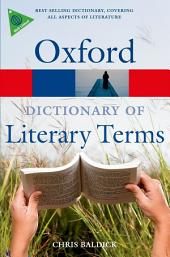 The Oxford Dictionary of Literary Terms: Edition 3