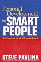 Personal Development for Smart People PDF