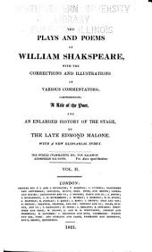 Life of William Shakespeare, by E. Malone