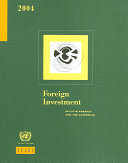 Foreign Investment in Latin America and the Caribbean 2004 PDF
