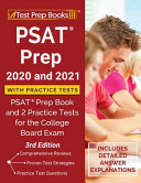 PSAT Prep 2020 and 2021 with Practice Tests Book