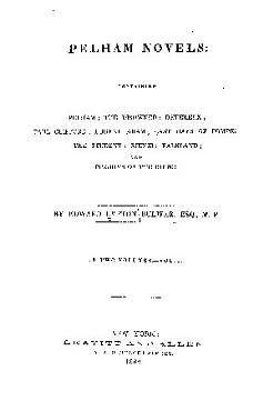 Pelham Novels PDF