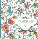 Like a Watered Garden Adult Coloring Book Book