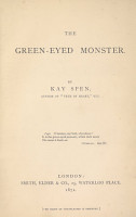 The Green eyed Monster PDF