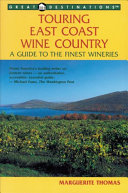 Touring East Coast Wine Country PDF