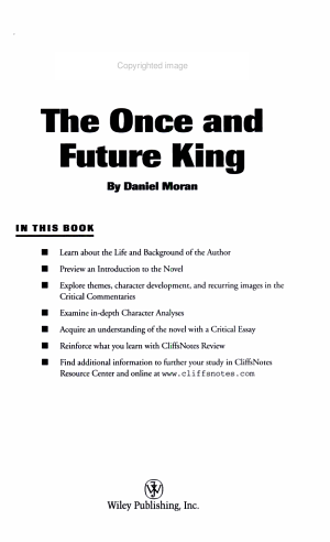 CliffsNotes on White s The Once and Future King