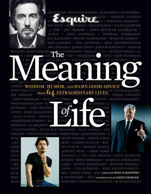 Esquire the Meaning of Life PDF