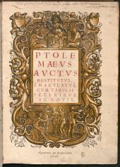 Claudius Ptolemaeus auctus restitutus