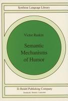 Semantic Mechanisms of Humor PDF