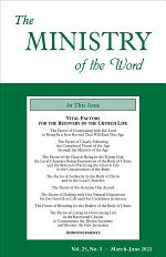The Ministry of the Word, Vol. 25, No. 03: Vital Factors for the Recovery of the Church Life