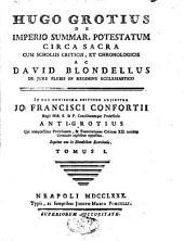 De imperio summarum potestatum circa sacra: Volume 1