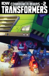 Transformers #40: Combiner Wars