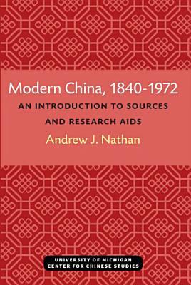 Modern China  1840   1972 PDF