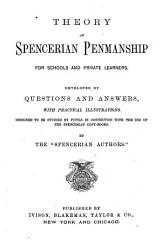 Theory Of Spencerian Penmanship For Schools And Private Learners Book PDF