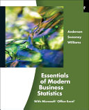 Essentials of Modern Business Statistics PDF