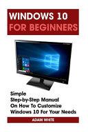 Windows 10 for Beginners PDF